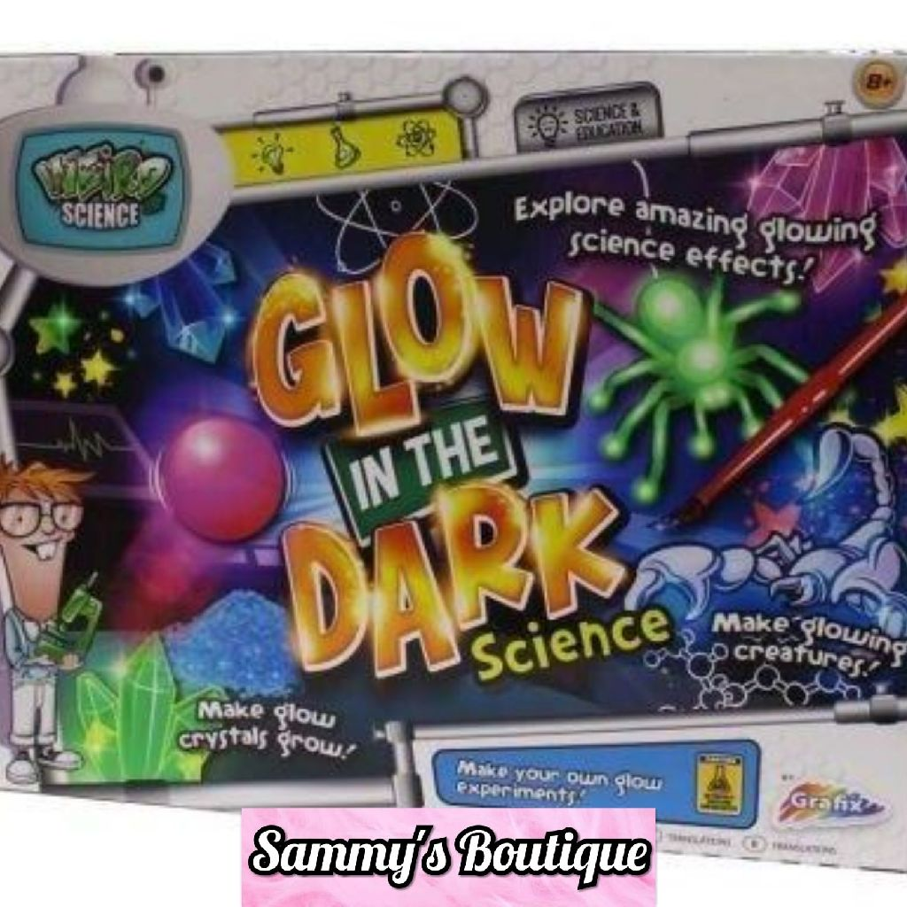 Weird Science - Glow In The Dark Science Set