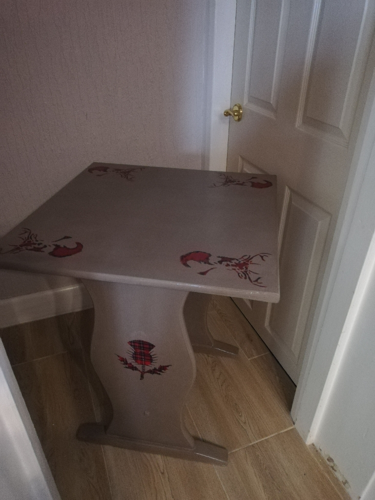 Upcycled Shabby Chic Pub Table