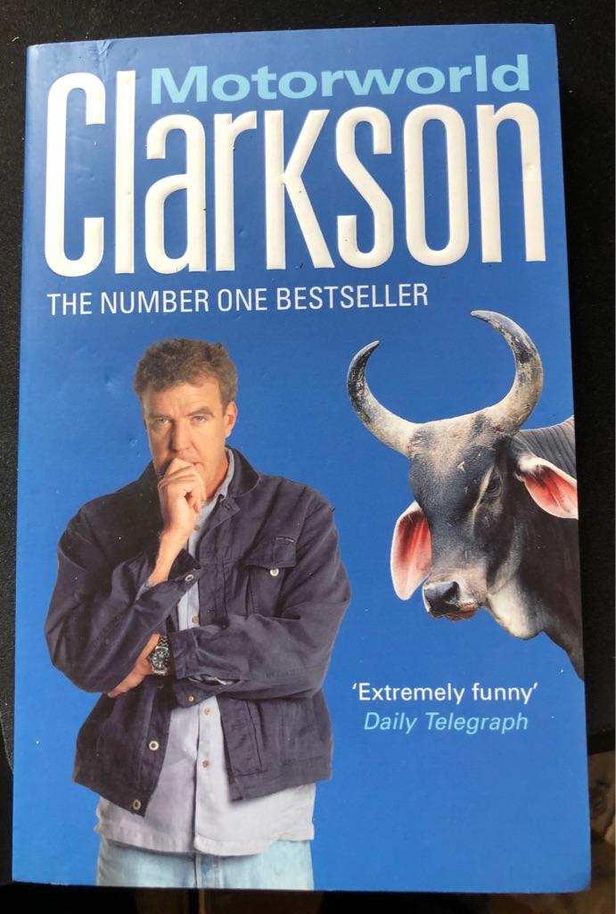 CLARKSON MOTORWORLD BOOK
