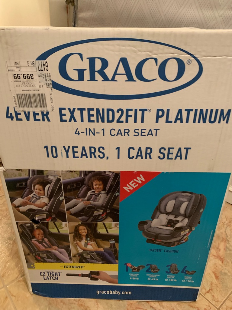 Platinum Car Seat
