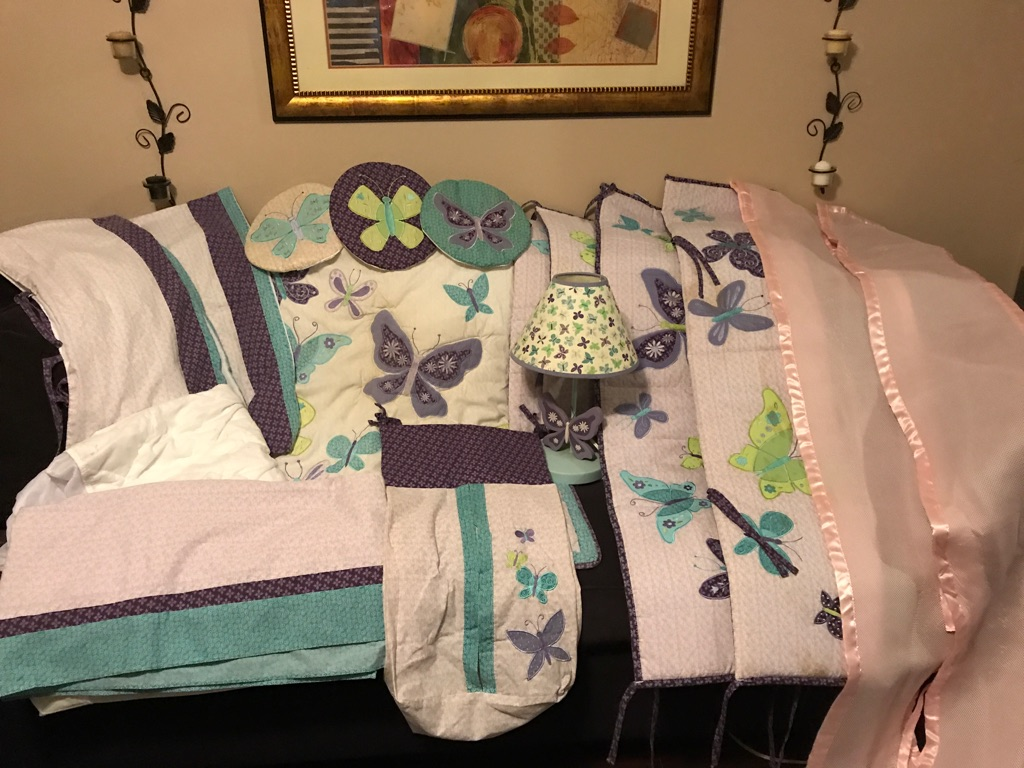 Baby Crib Bedding and Room set