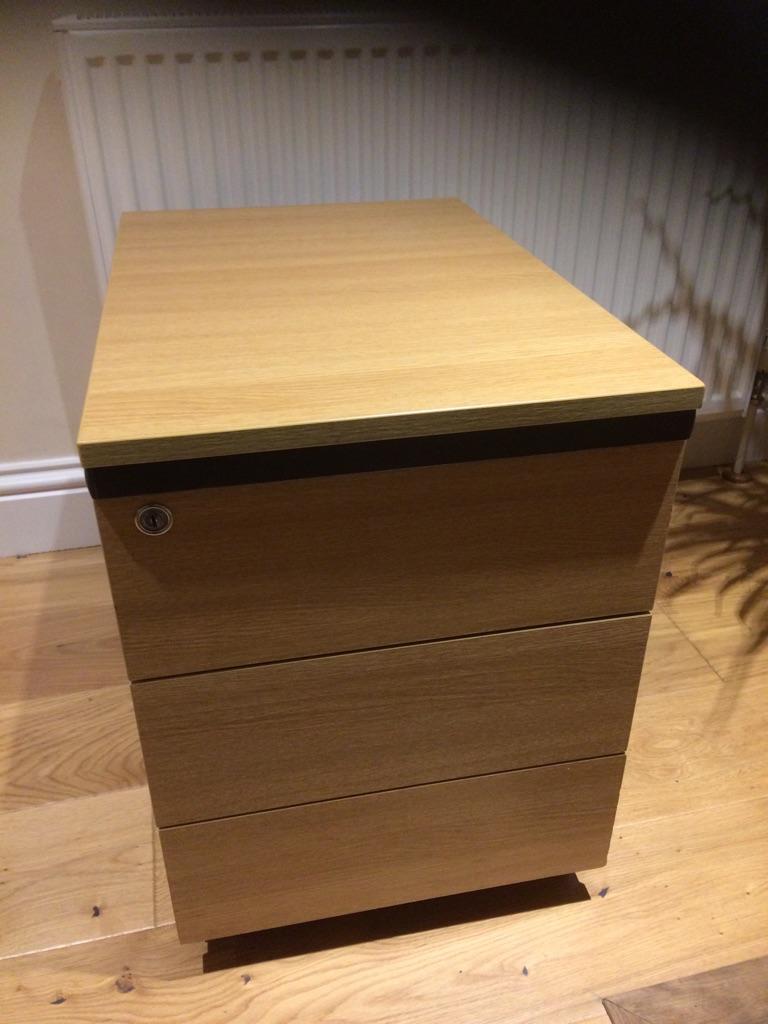 3 drawer pedestal