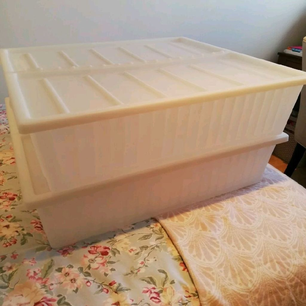 IKEA gimse underbed boxes X 2