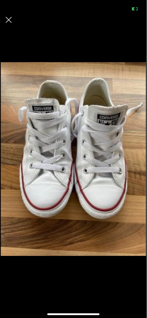CONVERSE ALL STAR WHITE LEATHER DAPS