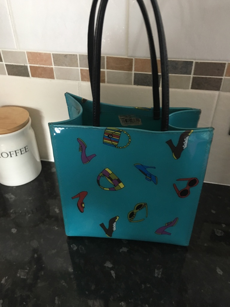 Bloomingdales Little Brown (Blue) Bag