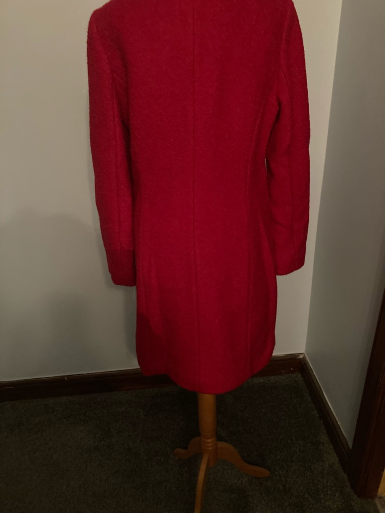 Beautiful brand new red coat