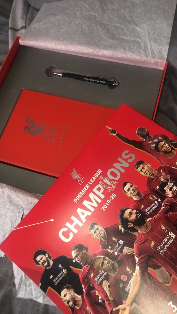 Liverpool FC musical gift box set- collectible item