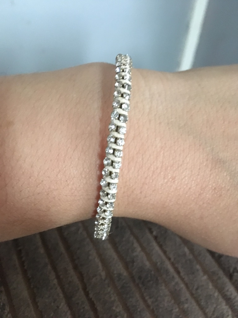 Woman's beautiful bracelet