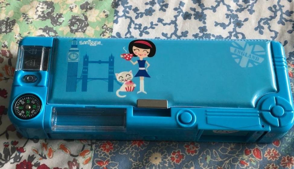 Smiggles pencil case