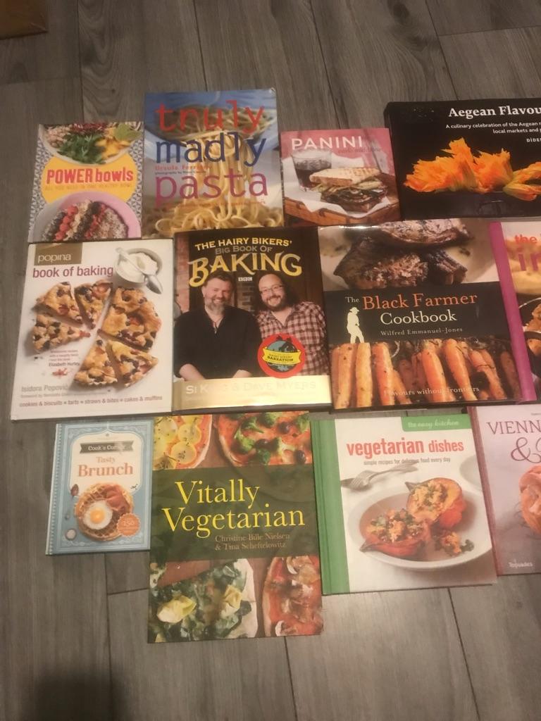 15 cook books