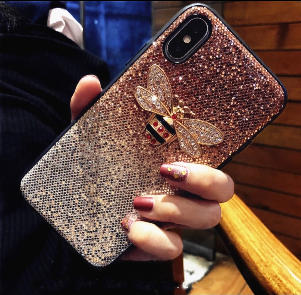 iPhone X or Xs Phone Case in brown