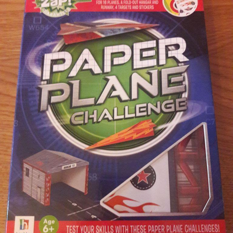 BRAND NEW Zap!Paper Plane Challenge