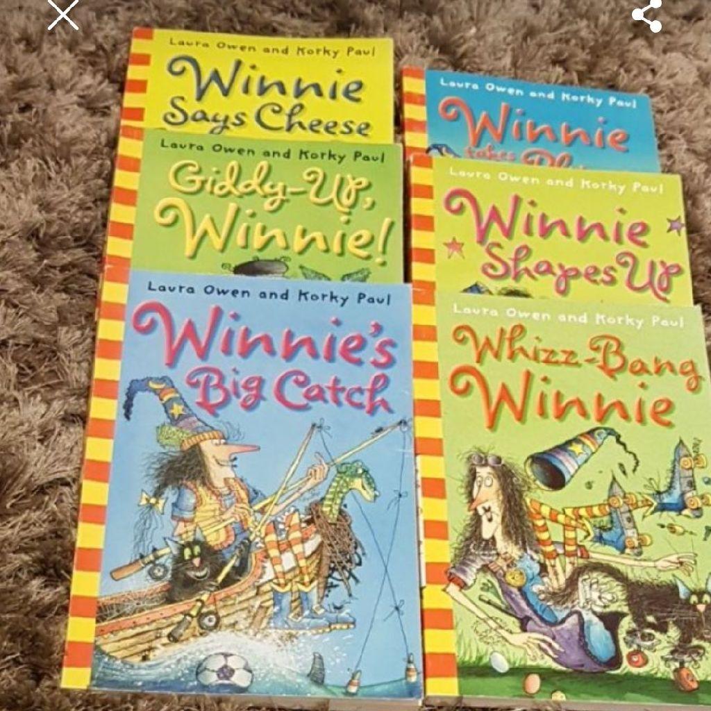 6 winnie the witch  books