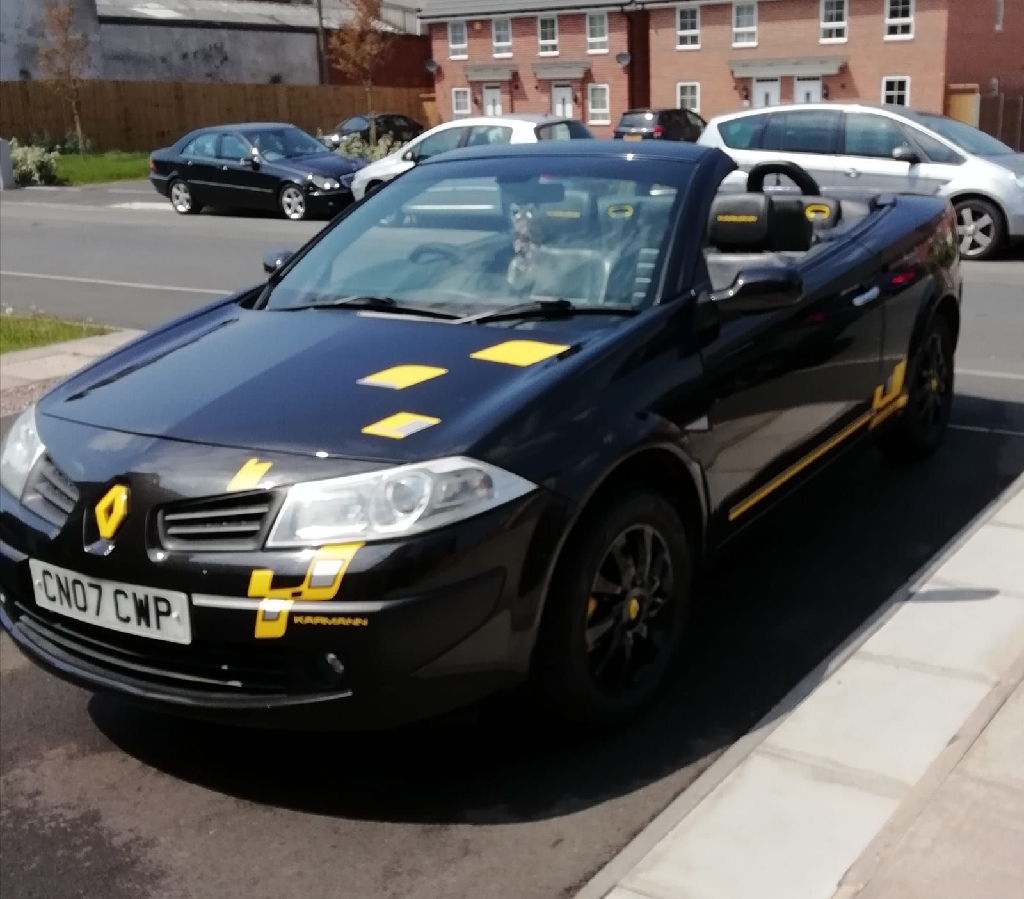 Renault magane coupe