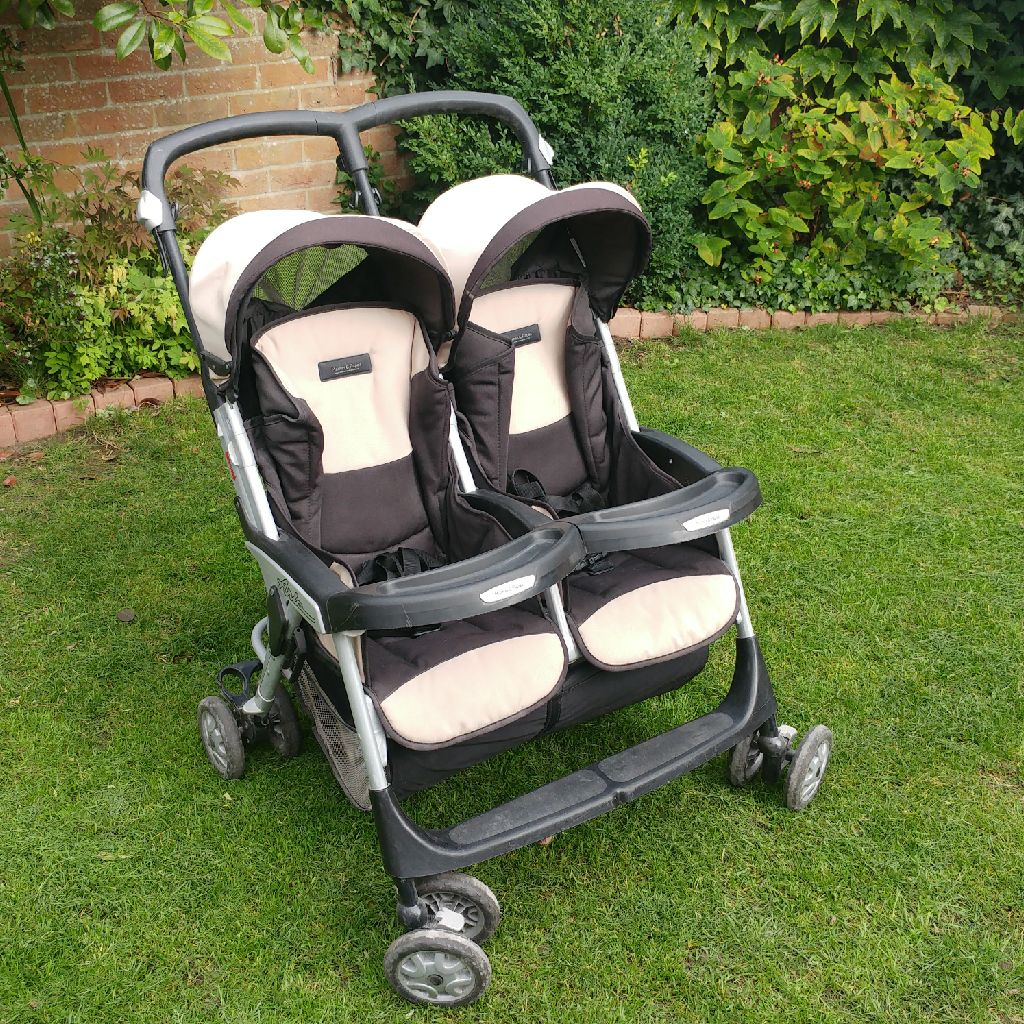 Mamas and Papas Aria double buggy