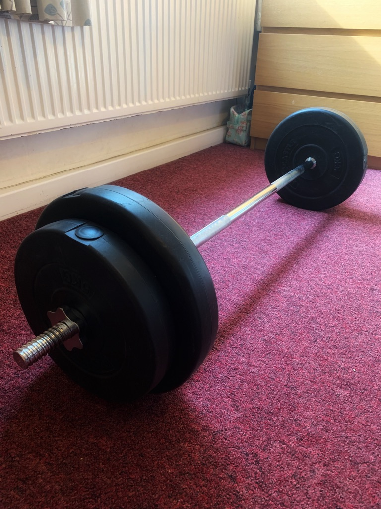 4ft barbell and weights