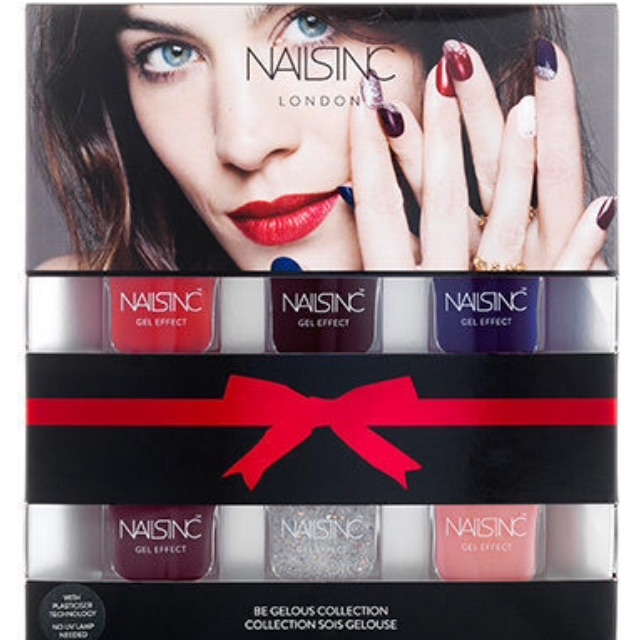 Nails Inc Gel polishes x6 RRP £42