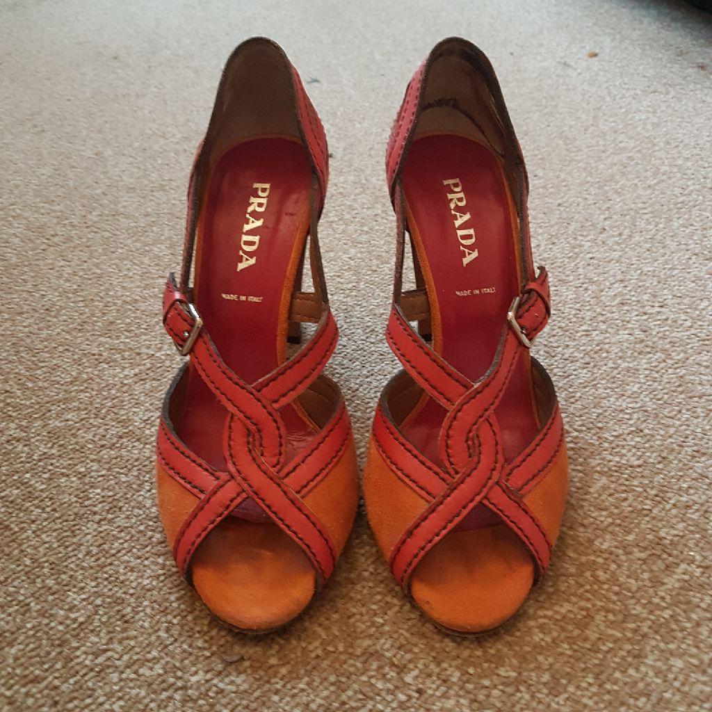 Prada shoes size 4