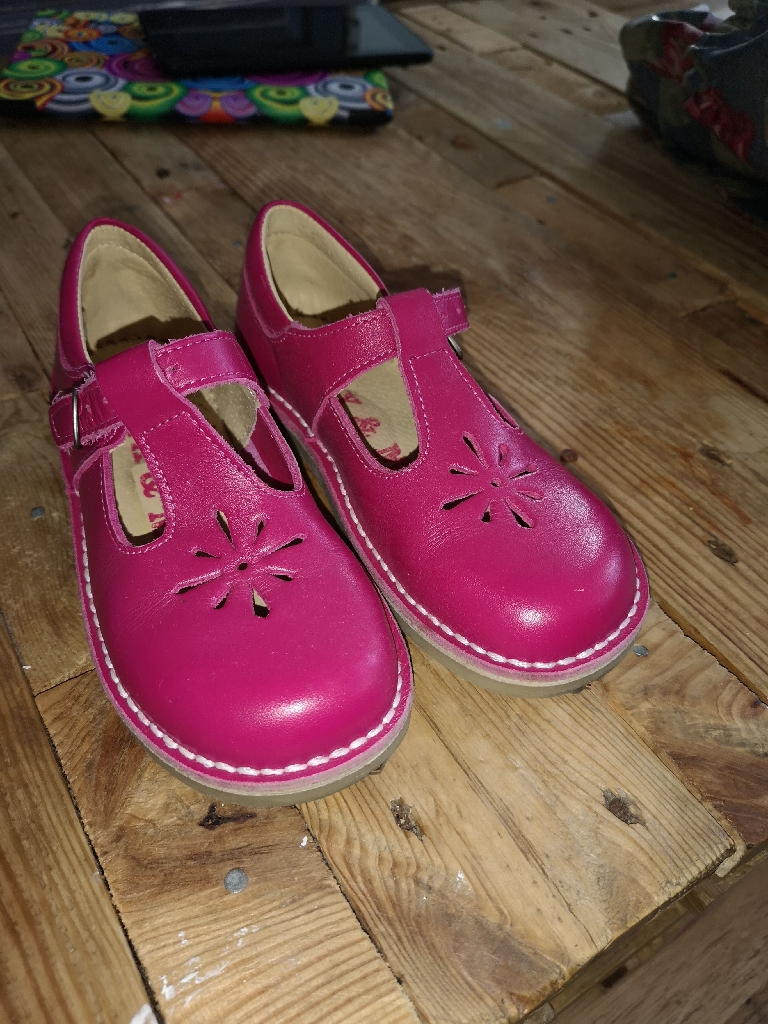 Kids size 29 (11.5) pink shoes