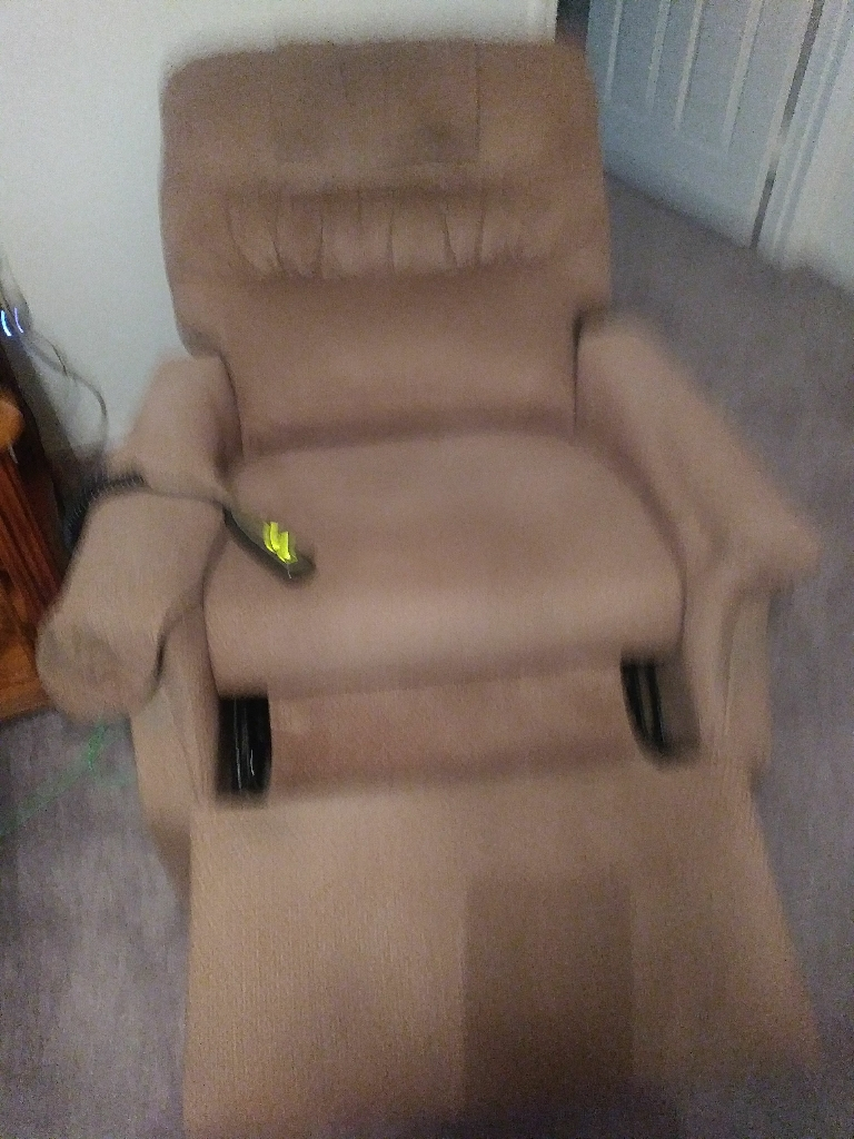 Left Chair.     Yes 👍 Negotiable