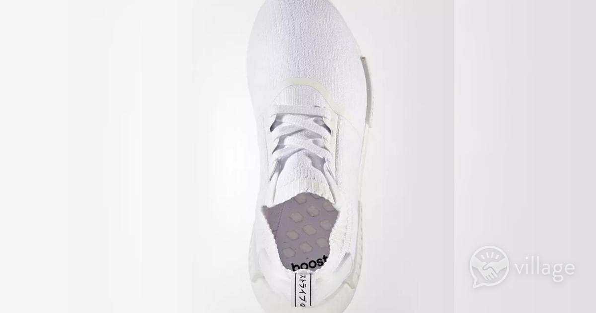 new style 29548 2aa3c Brand new adidas nmd r1 triple white 8.5uk | Village