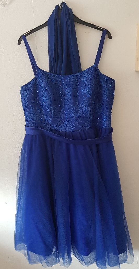 Bridesmaid's dress, blue (from Angelgown) - size 20