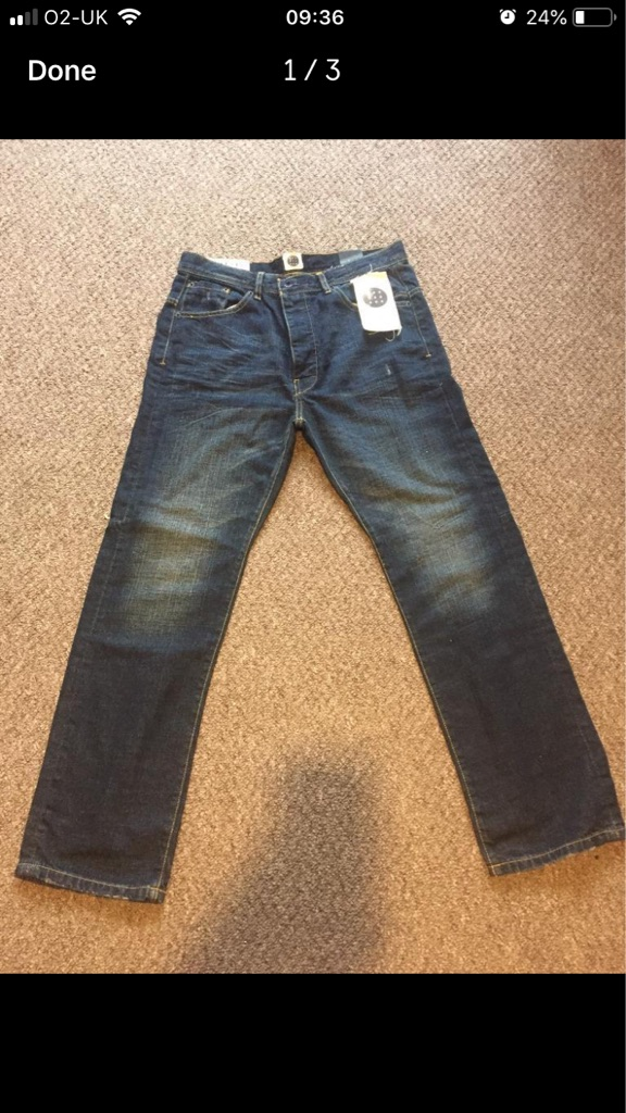 Bent men's crafted jeans 32/30