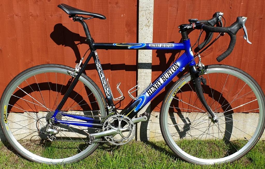 Henry BURTON....Hand Built Racing Bike