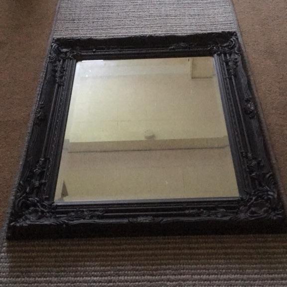 Decorative antique style mirror
