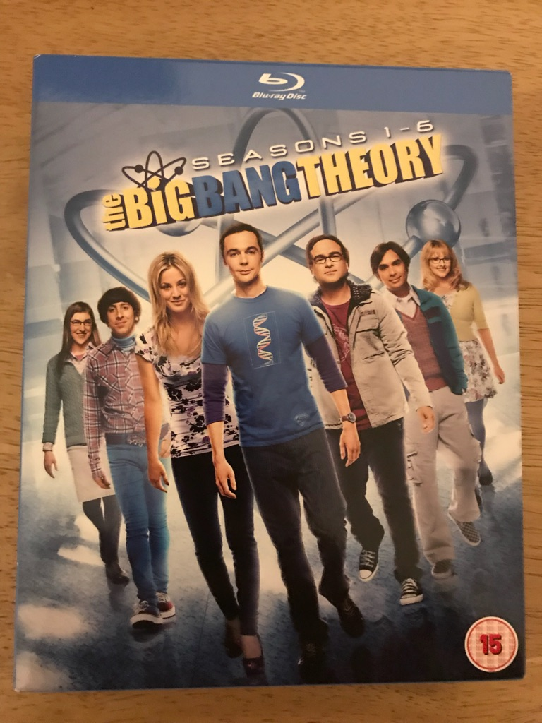 The Big Bang Theory Seasons 1-6 blu ray