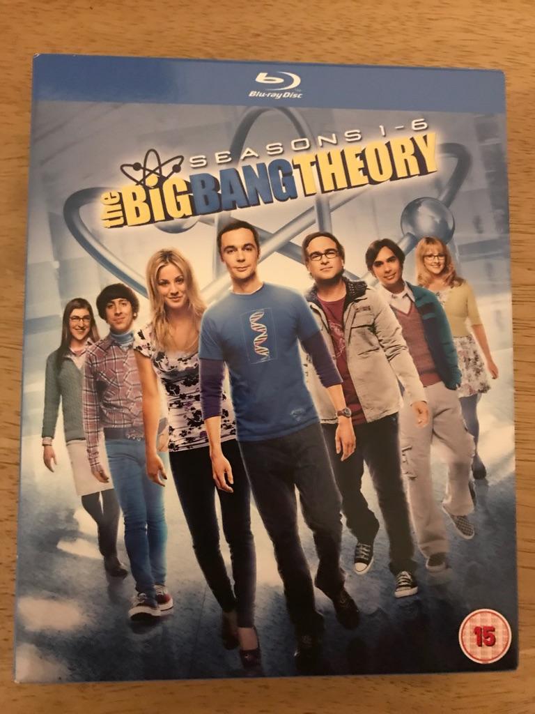 The Big Bang Theory Seasons 1-6 blu ray