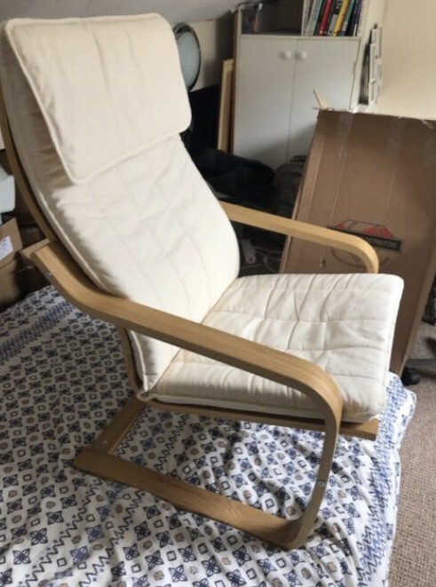 Ikea rocking chair for sale-collection only