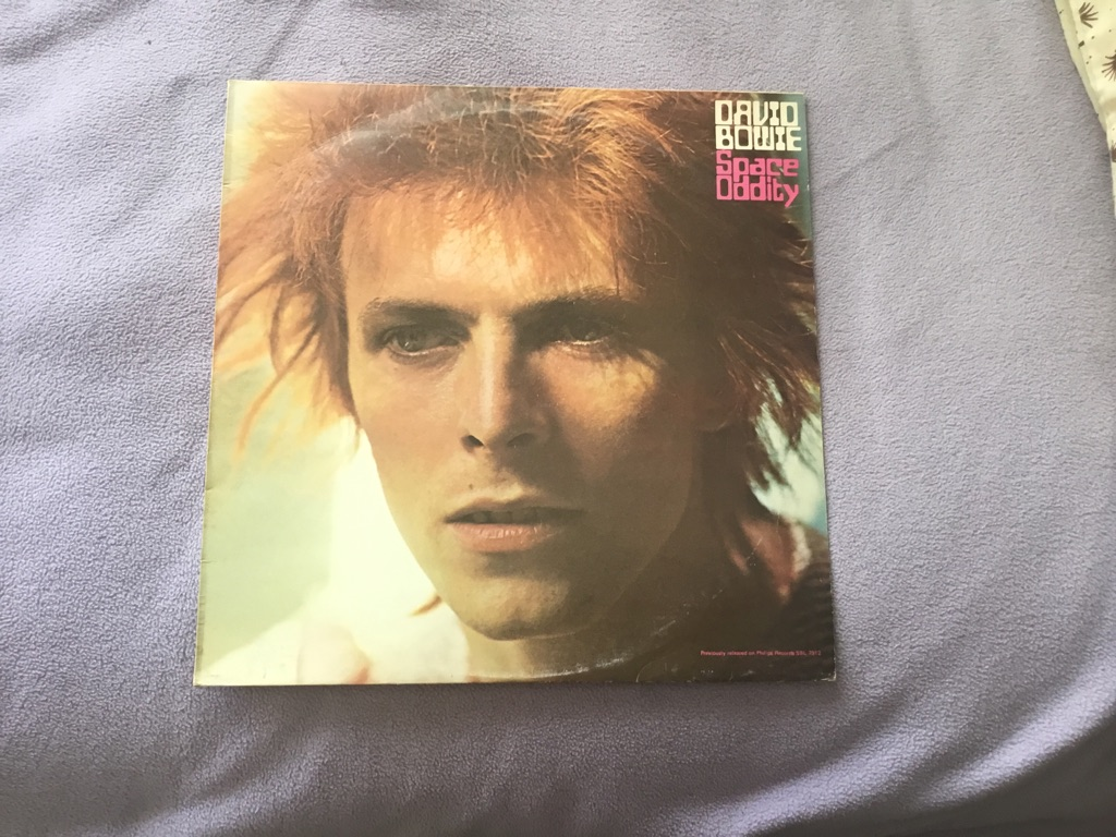 David Bowie space oddity 1969 LP iner sleeve outer sleeve VGC ultra rare
