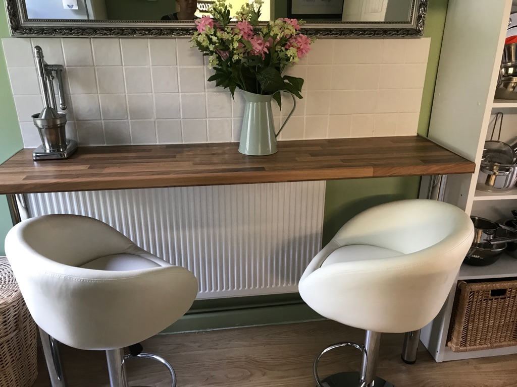 Two good quality bar stools