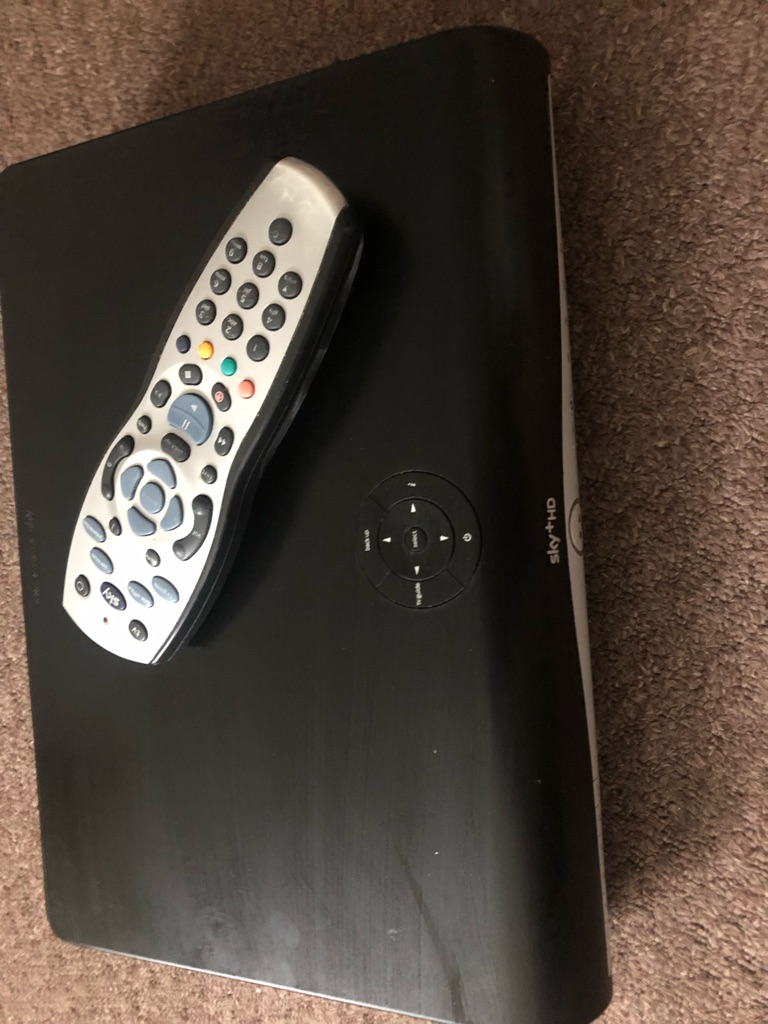 Sky plus had box and remote