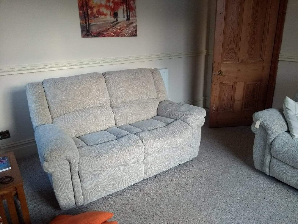 Manual Recliner Two Seater Sofa