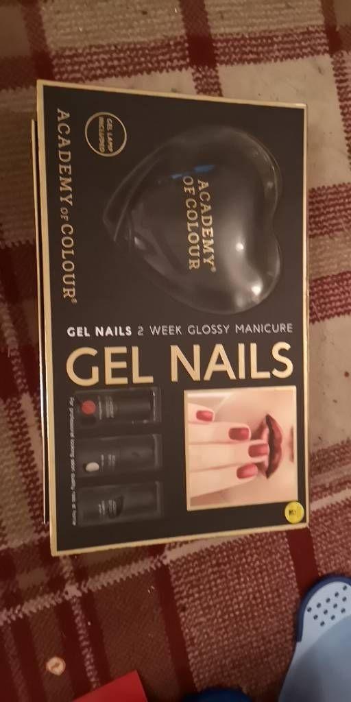 Gel nail set