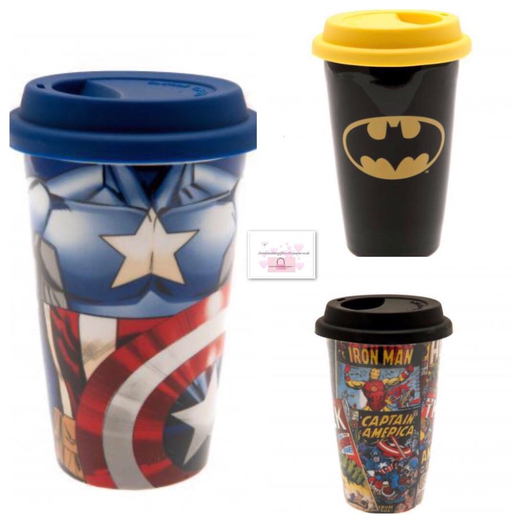 Marvel Travel Mugs