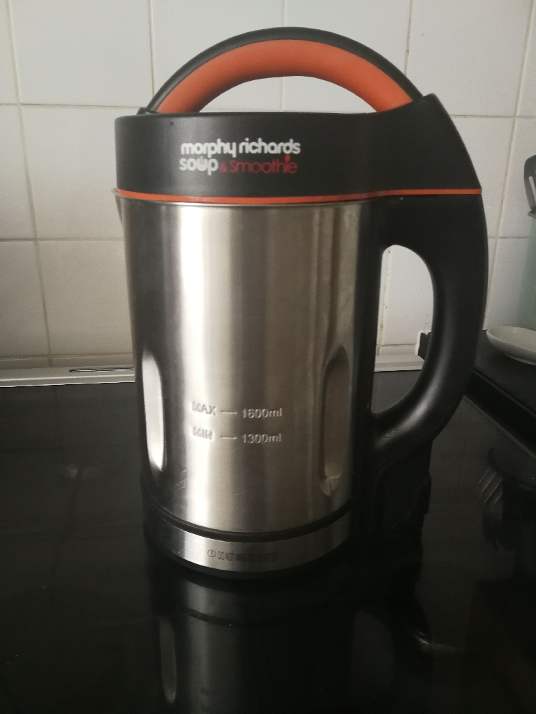 Morphy Richards soup and smoothie maker