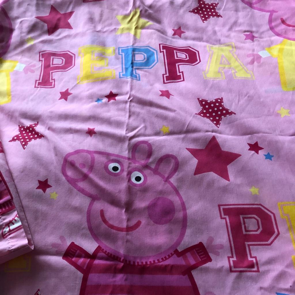 Peppa pig toddler bedding