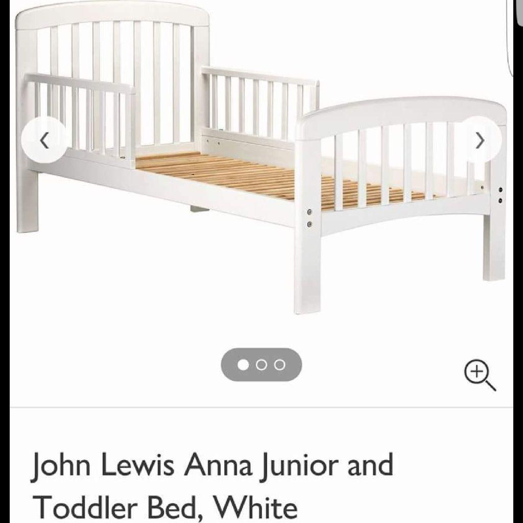 Picture of: John Lewis White Toddler Bed Mattress Village