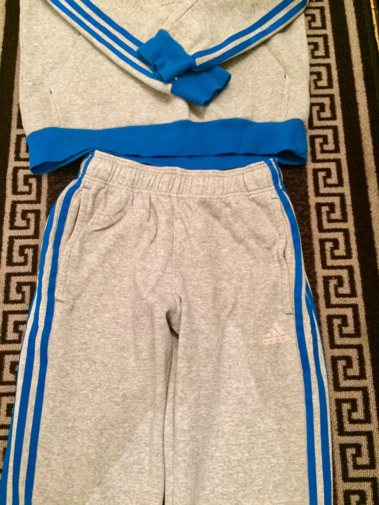 YOUNG BOYS ADIDAS TRACKSUIT
