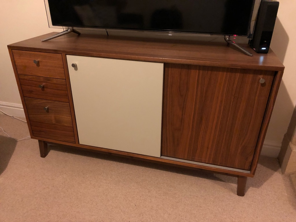 Hygena Merrick Sideboard in Walnut