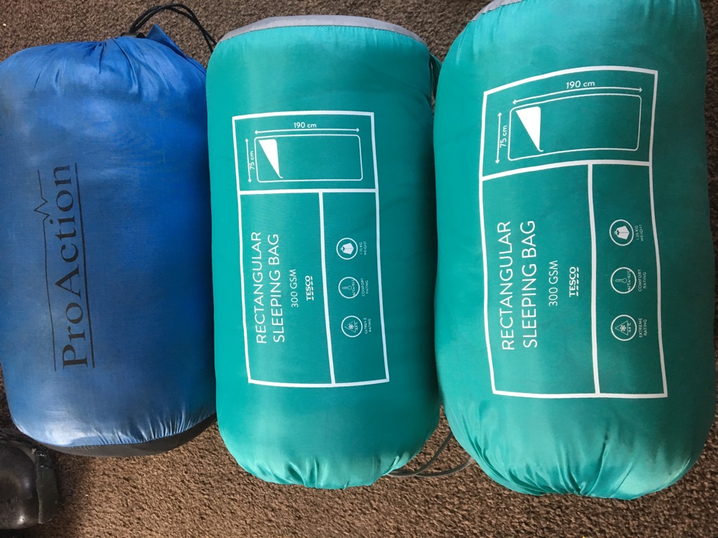 Single Sleeping bags £5 each