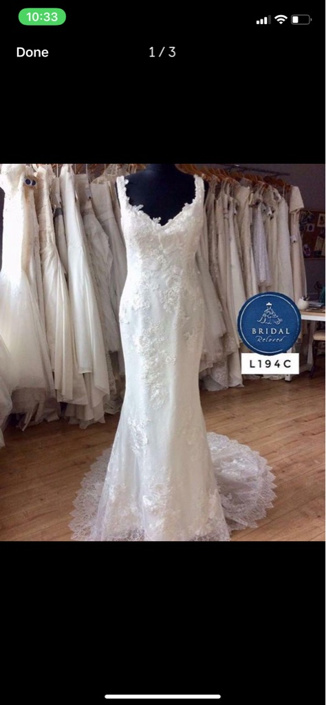 Modeca Hollywood glamour wedding dress