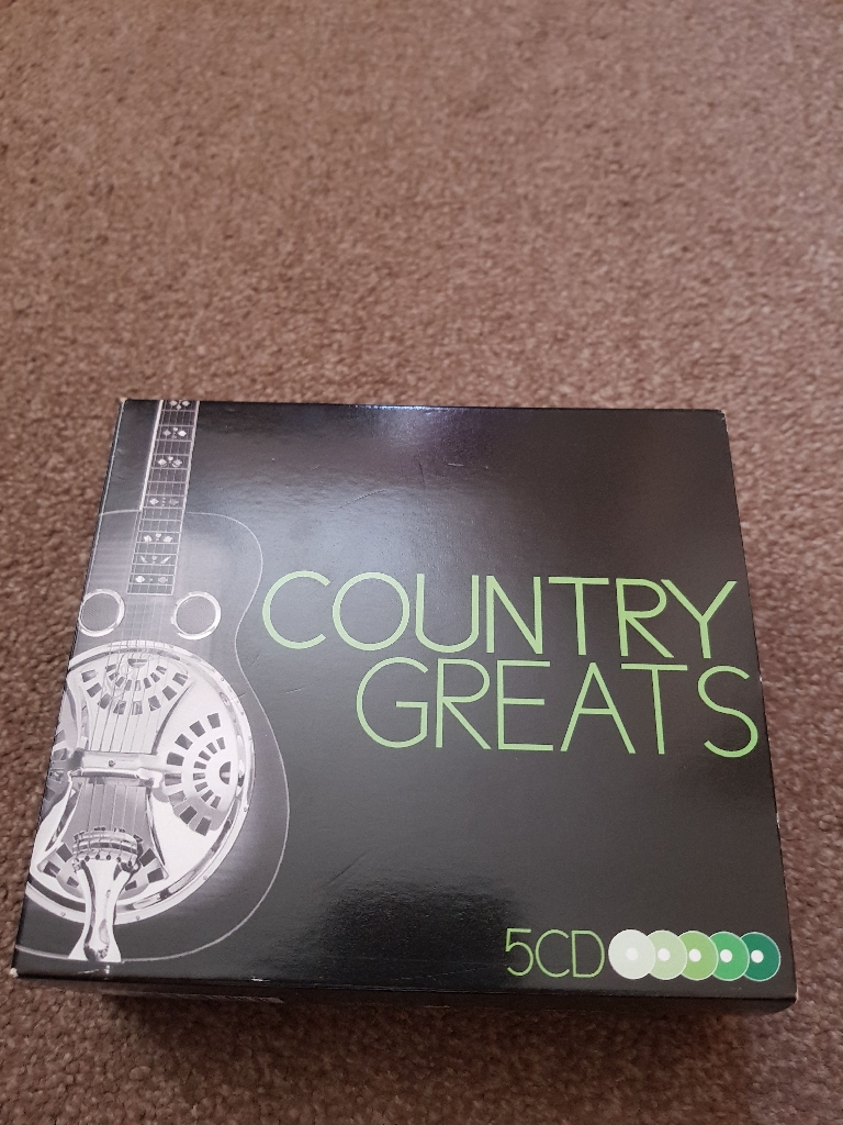 Country CD box set