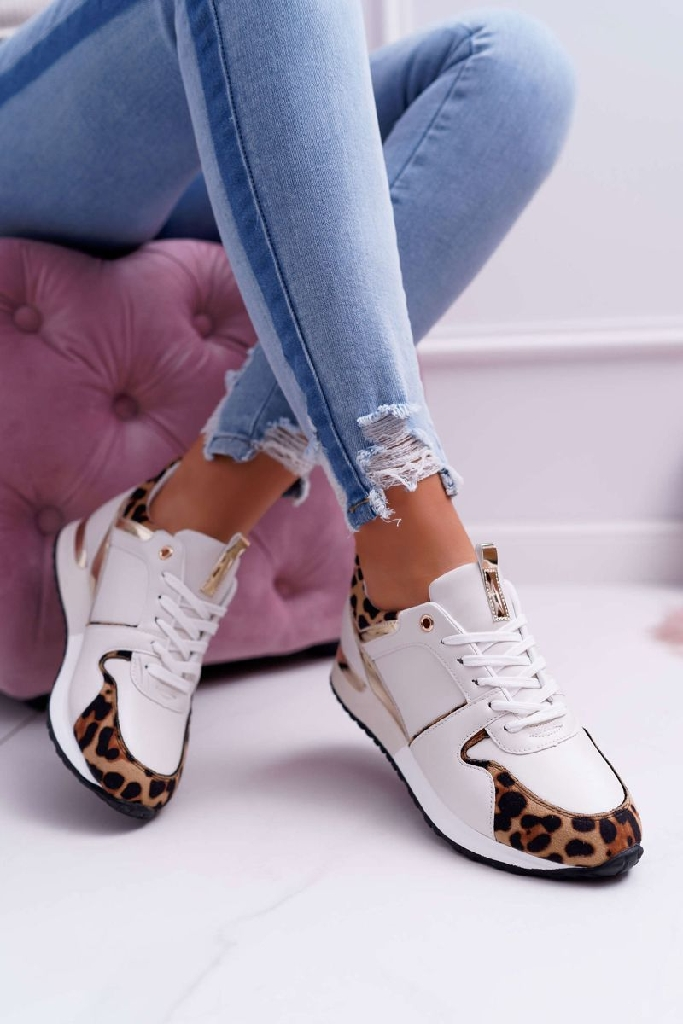 Trainers leopard print