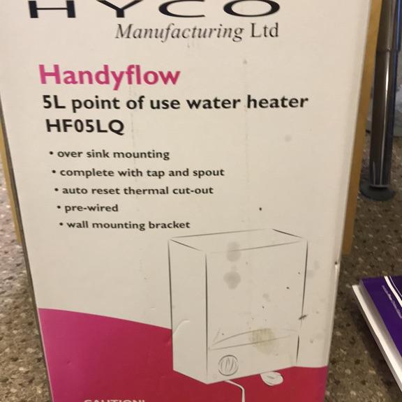 Handyflow water heater