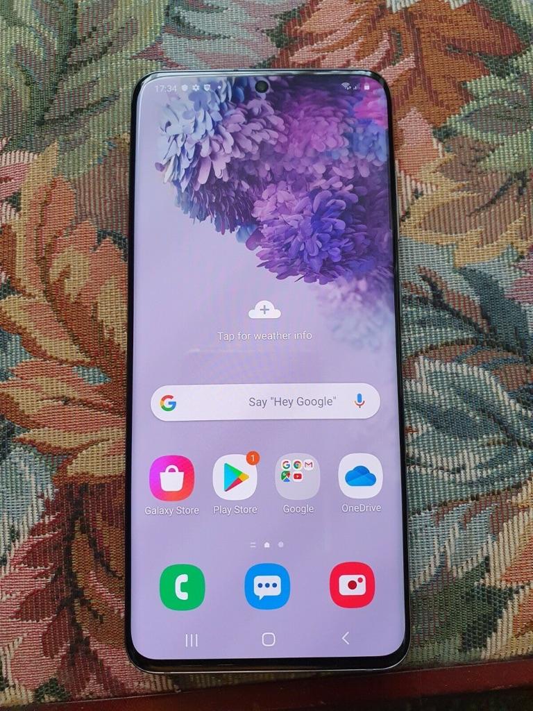 Samsung Galaxy S20 SM-G980F/DS - 128GB - Cosmic Grey (Unlocked) (Dual SIM)