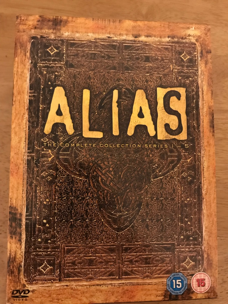 Alias Seasons 1-5 dvd
